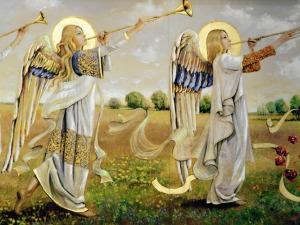 anioly- licheń bazylika górna